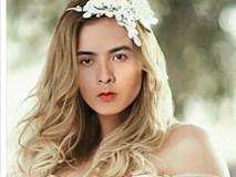 Hồ Quang Hiếu khoe ảnh ghép diện váy cô dâu, Bảo Anh tiết lộ mình chỉ là 'bình phong'