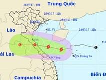 Chiều tối nay, bão số 4 đổ bộ Nghệ An - Quảng Trị