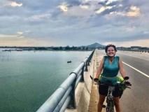 """Nữ du khách bị mất trộm xe đạp: """"Tôi sẽ đến Việt Nam làm việc"""""""