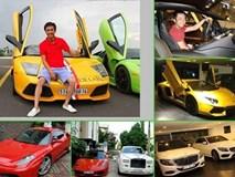 Chân dung 4 thiếu gia có thú chơi xe sang nổi tiếng nhất Việt Nam