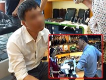 Người đàn ông trộm 3 chiếc ví cùng mẹ đến cửa hàng xin lỗi, mẹ cho biết tâm thần không ổn định