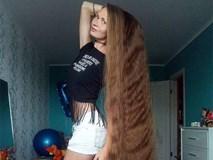 Nhận lời thách thức từ một người bạn, cô gái xinh đẹp quyết tâm không cắt tóc trong suốt 14 năm