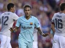 Neymar ghi bàn khiến Man Utd nhận thất bại đầu tiên ở Mỹ
