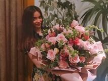 Hồ Ngọc Hà được 'người bí mật' tặng hoa giữa tin đồn tình cảm với Kim Lý