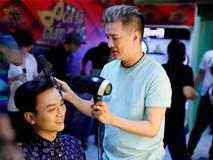 Chưa bao giờ quên nghề làm tóc, Đàm Vĩnh Hưng tự tay làm đẹp cho Hoài Lâm