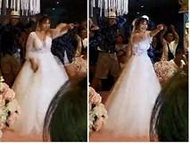 Cô dâu xinh đẹp bất ngờ nổi tiếng vì màn nhảy street dance thể hiện tình yêu với chồng ngay giữa hôn lễ