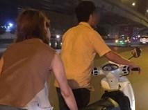 """Vợ chồng dắt xe hết xăng lúc nửa đêm, thanh niên xăm trổ làm điều khiến dân mạng phải """"truy lùng"""""""