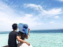 Ghen tị với cô vợ hotgirl được chồng rủ đi Maldives để kỷ niệm 7 năm ngày cưới
