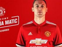Matic chính thức đầu quân cho Man Utd