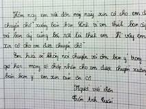 """Không thể tin vào mắt mình """"những bức thư tình"""" tiểu học thời nay"""