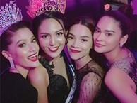Hồ Ngọc Hà và Đỗ Mỹ Linh đẹp lấn át Hoa hậu Hoàn vũ thế giới 2015