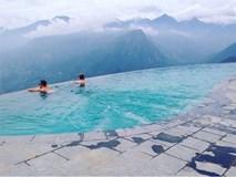 2 resort có bể bơi vô cực với view đụng núi đẹp ngất ngây, cách Hà Nội chỉ 1 đêm đi tàu