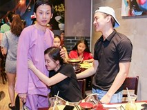 Hoài Linh thân thiết với bạn gái Hoài Lâm dù từng một mực phản đối đám cưới