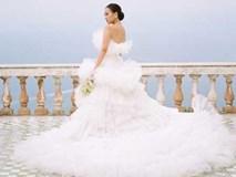 Cô gái bỗng nổi rầm rầm sau ngày cưới đại gia nhờ chiếc váy cưới trên cả tuyệt vời này