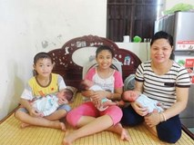 Mẹ nghèo kể về ca mang thai 3 tự nhiên hiếm gặp, khiến bác sĩ đau đầu mỗi lần siêu âm