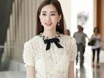 Hoa hậu Đặng Thu Thảo hấp dẫn vạn ánh nhìn dù ăn mặc giản dị