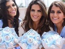 Ngắm nhìn đám cưới công nghệ cực kỳ độc đáo: Hoa cưới làm bằng dây sạc