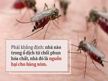 Dù ở biệt thự, ngủ phòng máy lạnh, 3 điều quan trọng chống sốt xuất huyết này không thể bỏ qua