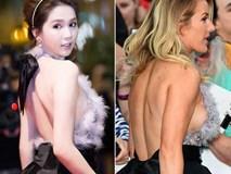 """Lấy lại phong độ sau nghi án váy nhái, Ngọc Trinh bỏ xa sao Hollywood khi """"đụng"""" đầm hiệu"""