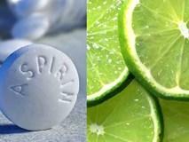 Công thức làm đẹp, chống lão hóa da 'bất bại' chỉ từ thuốc aspirin