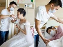 Bức ảnh cưới trong nước mắt và món quà cuối cùng của người vợ dành tặng cho chồng