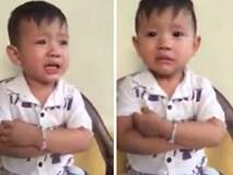Siêu dễ thương: Cậu bé Nghệ An bị phạt lỗi, vừa mếu máo khóc vừa hát 'Gửi anh xa nhớ'