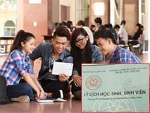 Tân sinh viên làm thủ tục nhập học không cần xác nhận sơ yếu lý lịch