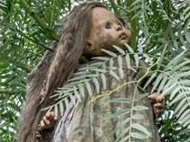 Hòn đảo với hàng nghìn con búp bê kinh dị được treo lủng lẳng trên cây