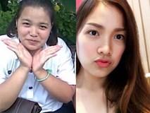 Không đụng dao kéo, gái ế nặng 110kg lột xác thành hot girl 50kg xinh lung linh