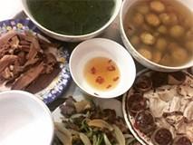 'Phát hờn' với 5 mâm cơm phiên bản 'chồng nhà người ta' nấu tặng vợ