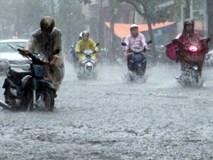 Hà Nội và TP.HCM mưa lớn trên diện rộng, lũ quét ở vùng núi