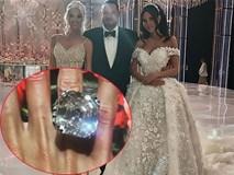 Đám cưới sang chảnh bậc nhất 2017: Cô dâu đeo nhẫn hơn 225 tỷ, sánh đôi cùng vị đại gia khét tiếng