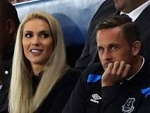 Bản hợp đồng kỷ lục của Everton ra mắt cùng bạn gái