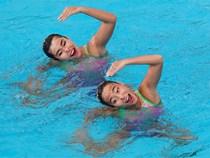 Màn trình diễn đẹp mắt của đội bơi nghệ thuật Việt Nam