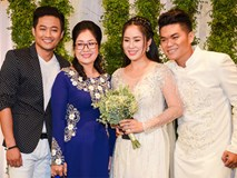 Quý Bình và dàn sao Việt tới chúc mừng lễ cưới Lê Phương ở Sài Gòn