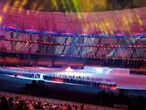 Lễ khai mạc SEA Games 29: Bữa tiệc âm thanh, ánh sáng