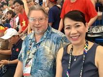 Cha mẹ Paul Lê Nguyễn từ Mỹ đến Malaysia xem con thi đấu SEA Games