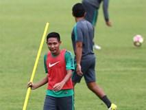 U22 Indonesia rèn tình huống cố định trước trận gặp U22 Việt Nam