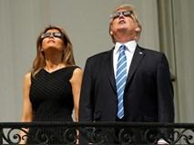 Ông Trump sửng sốt ngắm nhật thực trăm năm có một lần