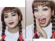 BB Trần hướng dẫn make up giống búp bê ma Annabelle
