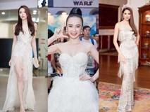 Dàn mỹ nhân Việt đồng loạt diện sắc trắng đẹp thoát tục trên thảm đỏ thời trang tuần này
