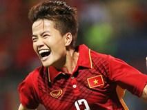 ĐT nữ thắp sáng ngày buồn của bóng đá Việt Nam bằng chiếc HCV