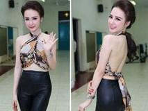 Dàn mỹ nhân Việt 'chết mê' mốt quấn khăn thành áo vô cùng gợi cảm