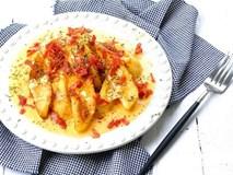 Khoai tây chiên sốt phô mai - món ăn vặt mới toanh khó chối từ
