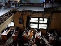 Phòng học bị sập khiến 11 học sinh bị thương xây dựng từ năm 1956