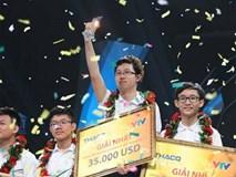Bảng thành tích ai cũng phải choáng của Nhật Minh - nhà vô định Olympia 2017