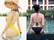 Angela Phương Trinh, Phi Thanh Vân khoe ảnh chụp ở bể bơi, ai hơn?