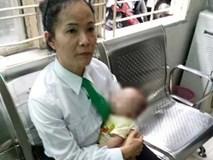 Bé trai 2 tháng tuổi bị bỏ rơi trên xe taxi