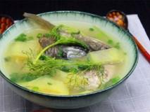Thêm một cách nấu canh cá ngon lạ đổi món cho thực đơn hàng ngày