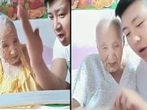Bà mẹ xì tin cùng cậu con trai khiến người xem cười...chảy nước mắt